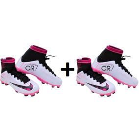 Chuteira Rosa Do Cristiano Ronaldo Infantil - Chuteiras Nike no ... 1a6dc626f4a68