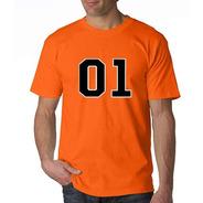 Camiseta Estampada 01 Dukes De Hazzard General Lee