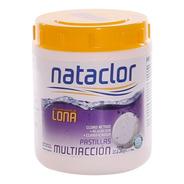 Pastillas De Cloro Multiacción Piletas De Lona 1/4 Kilo Nata