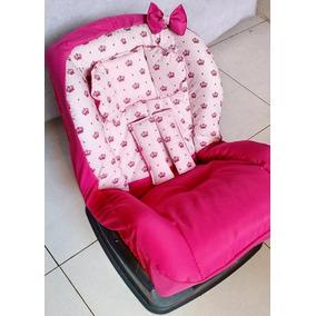 Kit Capa Para Cadeira Auto Infantil Estofada 3 Itens