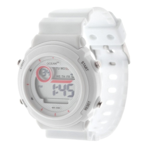 Reloj Mujer Ocean Dr. Deportivo Digital Sumergible Dig063