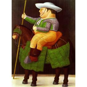 Lienzo Tela Canvas Arte Picador Fernando Botero 116 X 85