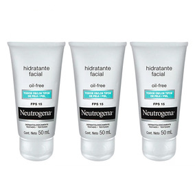 Neutrogena Oil Free Fps15 Pague 2 Leve 3 Kit- Hidratante