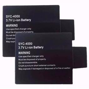 Kit 2 Bateria Extra Para Câmera 4k Ultra Hd 16mp Eken H9