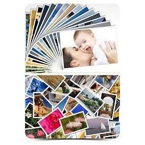 500 Papel Adesivo Fotográfico Glossy 115g A4 - Prova D´água