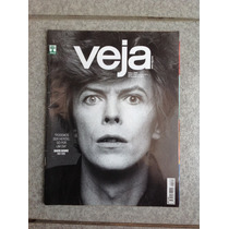 Revista Veja David Bowie Messi Donald Trump Ano 2016 Capa 4