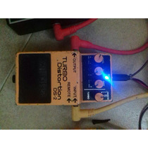 Boss Ds-2 Turbo Distortion Mxr Ehx Dunlop Distorsión Metal
