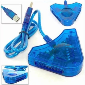 Adaptador Convertidor Usb Ps1 Ps2 Psx Control Playstation Pc