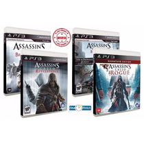 Assassins Creed Revelation + Brotherhood + Blackflag + Rogue