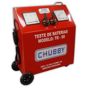 Testador De Bateria Automotiva Chubby Tr-99 Carro Caminhão