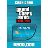 Grand Theft Auto V Tiger Shark Cash Card Ps4-xbox One