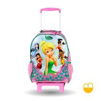 Mochilete Escolar Infantil Tinkerbell Fadas Disney Original