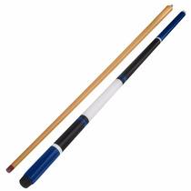 Taco De Sinuca Desmontável Azul Preto E Branco (7859)