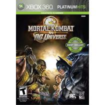 Mortal Kombat Vs Dc Universe Platinum Hits Xbox 360 Nuevo Ci