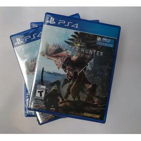 Monster Hunter World Ps4 Disponible