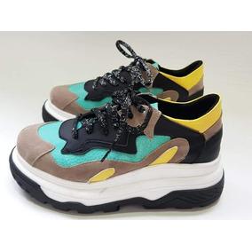 Zapatillas Sneakers Mujer Balenciaga Plataforma Mujer Moda