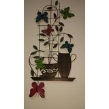 Placa Decorativa De Pared Mariposa De Home Interiors