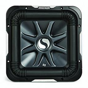 Kicker S12l7 Car Audio Solobaric L7 Cuadrado 12-inch Sub Dua