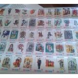 Timbres Postales Planilla Temas Puebla, Mexico, Etc