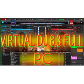 Virtual Dj 8.3 Full Compatible Todos Los Controladores+skins