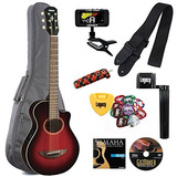 Yamaha Apxt2 Guitarra Cutaway Acústico-eléctrica Thinline...