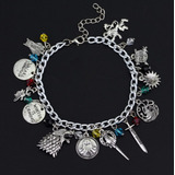 Pulsera Game Of Thrones - Juego De Tronos - Stark Targaryen