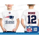 Camiseta Infantil New England Patriots Nfl Futebol Americano 09cfd37108c4c