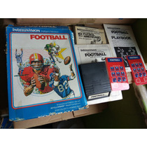 Football Intellivision Mattel Videogame Completo