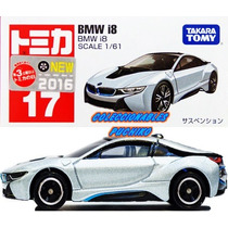 Tomica Carro Bmw I8 2016 1/61 Metalico Takara Japon Bmw