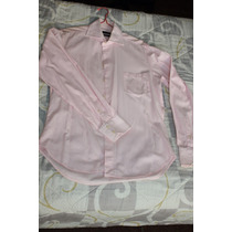 Camisa De Vestir Zara Talla M Original