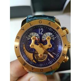 e4f6a7e71ed Relógio Bvlgari Venom Dourado - Relógios De Pulso no Mercado Livre ...