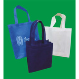 Bolsas Reutilizables Cambrel Publicitarias Impresas 35x40x10