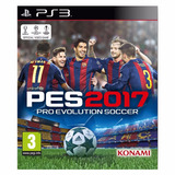Juego Ps3: Pro Evolution Soccer 2017