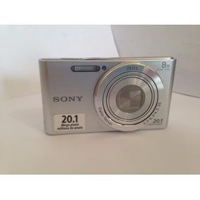 Camera Digital Sony Cyber Shot Dsc - W830 S/cabo/bateria