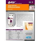 Diferencial Disyuntor Baw 2x40a 30ma Bipolar Syb