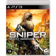 Sniper Ghots Warrior Ps3 Novo Original Lacrado Mídia Física