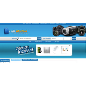 Mega Loja Virtual E-commerce Loja Virtual Script Php + Mysql