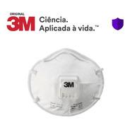 20 Máscara Respirador Descartável Pff2 C/ Válvula 3m 8822