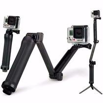 Gopro Hero 3 4 Selfi Bastao 3 Formas Tripe 3 Way Go Pro