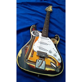 Stratocaster Personalizada Steampunk#1 (nueva)