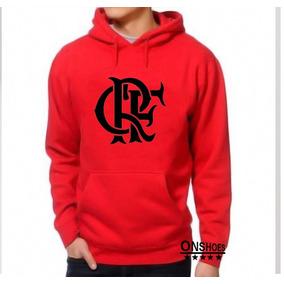 Blusa Flamengo Canguru Com Capuz Crf