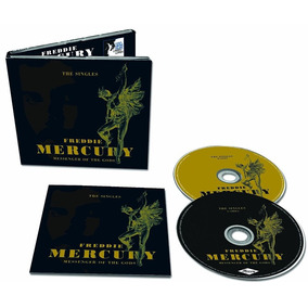 Cd Freddie Mercury Messenger Of The Gods (2pc) (import) Novo