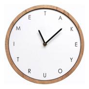 Reloj De Pared Minimalista #3 Marco Paraiso