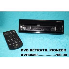 Dvd Pioneer Retratil 3580 N Sony Kenwood Buster Barato
