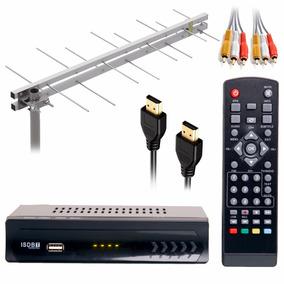 Conversor Tv Canal Analógico Digital Antena Externa Hdtv