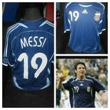 Camiseta Argentina Messi 2006 Suplente Original