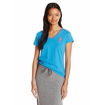 Polo Ralph Lauren - Camisa Gola V Feminina -pronta Entrega