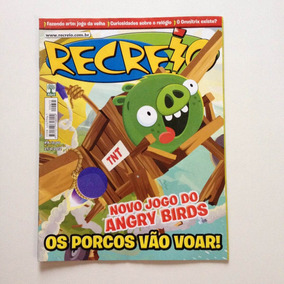 Revista Recreio Novo Jogo Do Angry Birds N°655