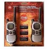 Rádio Comunicador Motorola 43km Talkabout Mj270 Mr