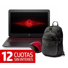 Notebook Hp Omen 15-ax201la I5-7300 8gb + Promo + 12 Cuotas
